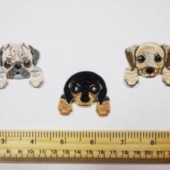 Dog Selection Sew On Motifs