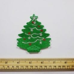 Christmas sew on motifs Christmas Tree