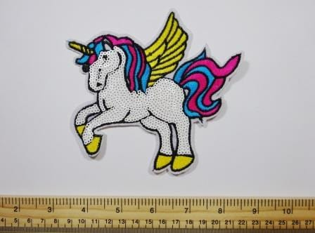 Unicorn Sequin Sew On Motif