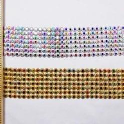 Metallic Multi Pips Braid Trimming