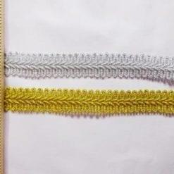 Military Knot Metallic Trimming Braid