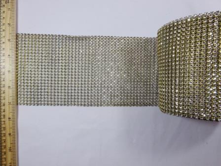 Diamante Crystal Belting Trimming