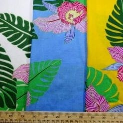 Viscose Java Quality Fabric Tahiti