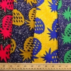Viscose Java Quality Fabric Pineapple Crumble