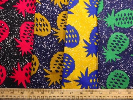 Viscose Java Quality Fabric Pineapple Crumble