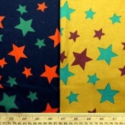 Cotton Brushed Fabric Star Struck