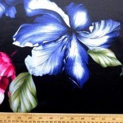 Scuba Jersey Fabric Statement Orchid