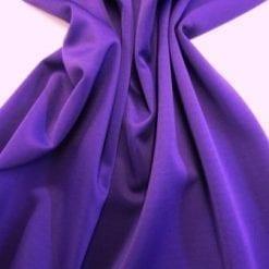 Scuba Jersey Fabric Purple