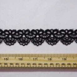 Lace Trimming Loving Cup Black