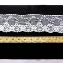 Lace Trimming Code 1845A white