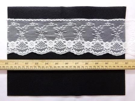 Lace Trimming Code 1845A ivory