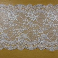 White Lace Trimming Stretch Code 5907