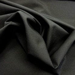 Suiting Fabric On A Jet Plane Black