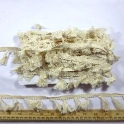 Cream Tassel Fringe