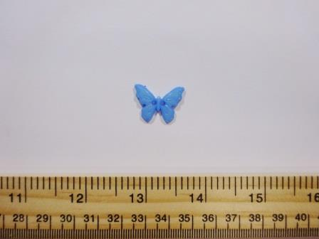 Blue Butterfly Buttons