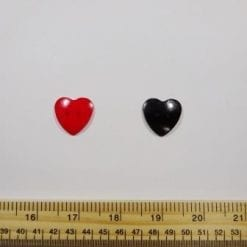 Large Heart Buttons