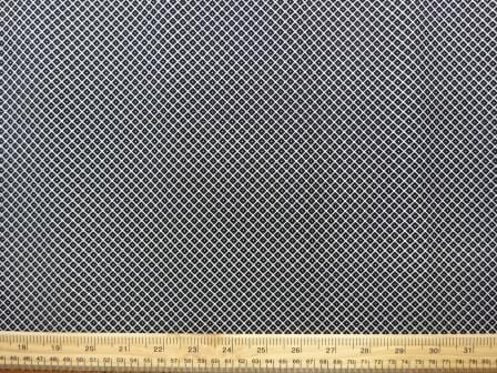 Bengaline Trouser Fabric Black Diamond