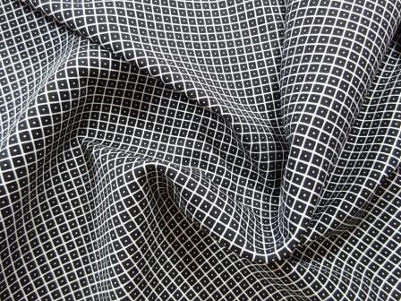 Bengaline Trouser Fabric Black Diamond