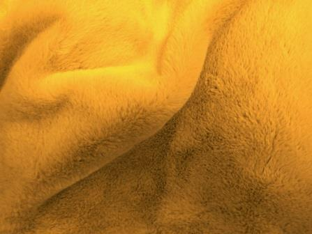 Mustard Faux Fur Fabric Premier Plush