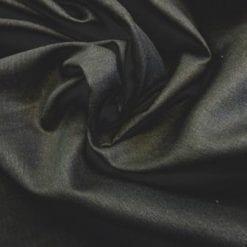Suiting Fabric Cotton Linen Mix Black