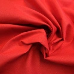 Suiting Fabric Cotton Linen Mix Red