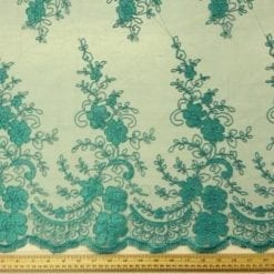 Lace Fabric Jade Kingsley