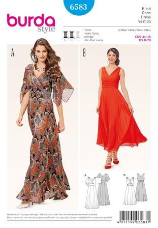 6583 burda sewing pattern