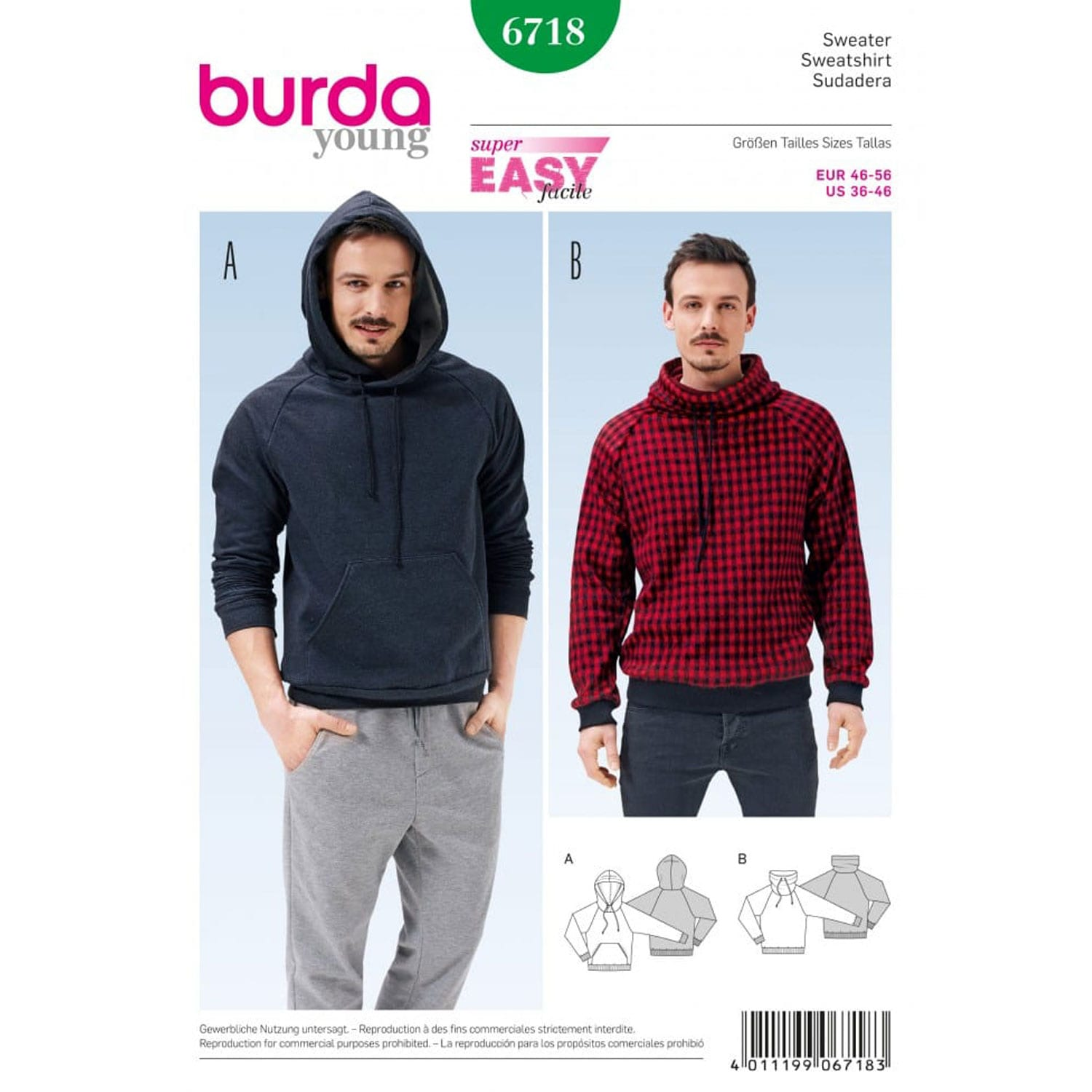 Burda Sewing Pattern 6718