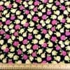 Viscose Fabric Floral Milly Flower Cerise