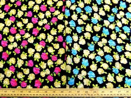 Viscose Fabric Floral Milly Flower