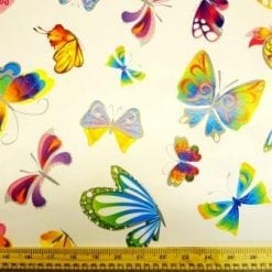 PVC Tabling Fabric Butterflies