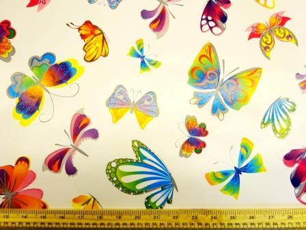 PVC Tabling Fabric Butterflies