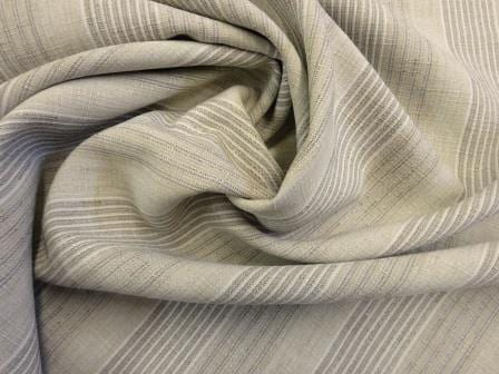 Suiting Fabric Linen Look Natural Slub Home