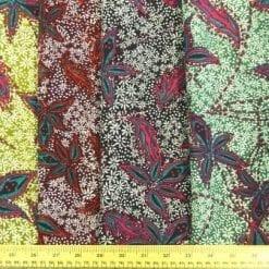 Viscose Fabric Bohemian Floral