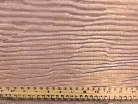 Satin Fabric Metallic Gold Foil Crystal Pleating