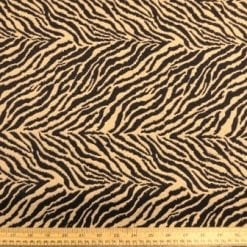 Upholstery Fabric Golden Tiger