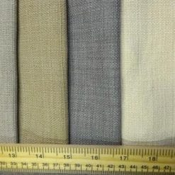 Curtaining Fabric Plain Linen Look