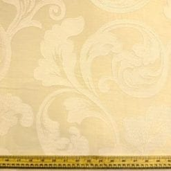 Curtaining Fabric Buckingham ivory