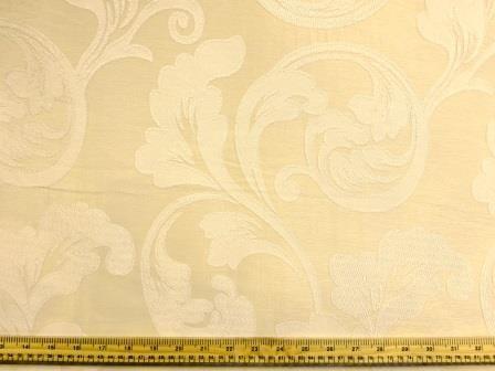 Curtaining Fabric Buckingham ivory