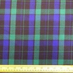Tartan Suiting Fabric Wallace