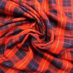 Tartan Suiting Fabric Clan Stuart