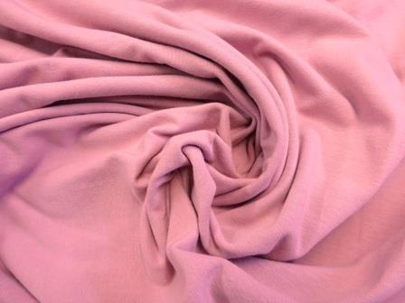 Cotton Lycra Fabric Dusky Pink