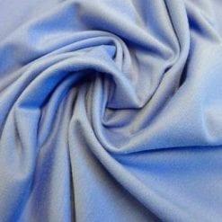 Ponte Roma Jersey Fabric Plain Colours cornflower