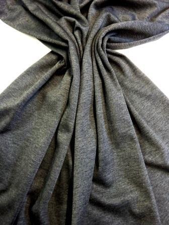 Ponte Roma Jersey Fabric Plain Colours dark grey