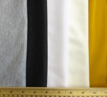 Ponte Roma Jersey Fabric Plain Colours