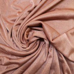Tan Slinky Jersey Fabric