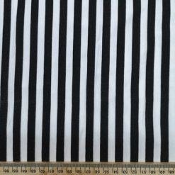 T-Shirting Hambug Black And White Stripe