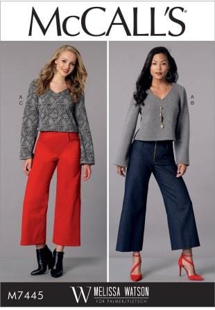 McCall 7445 sewing pattern
