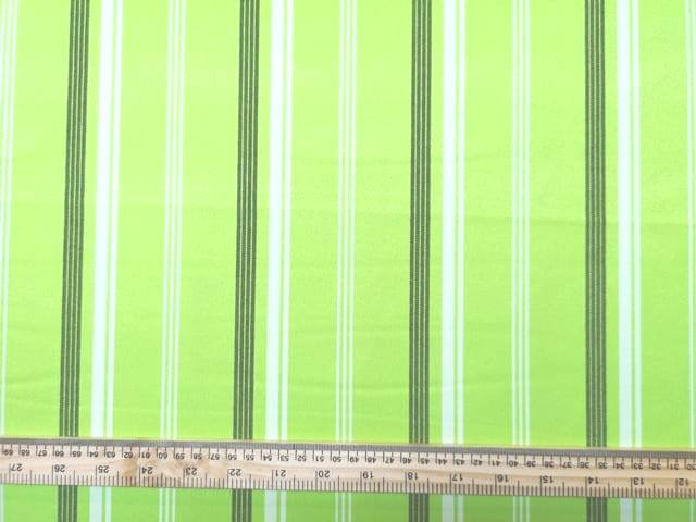 Suiting Fabric Pin Stripe Lime Lollipop