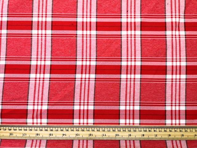 Tartan Suiting Fabric Mceldridge Polyester